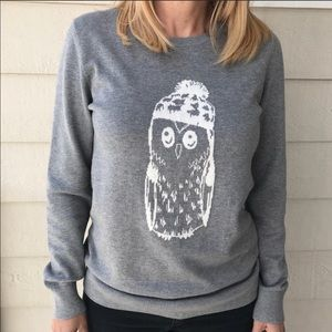 EUC Banana Republic owl sweater.